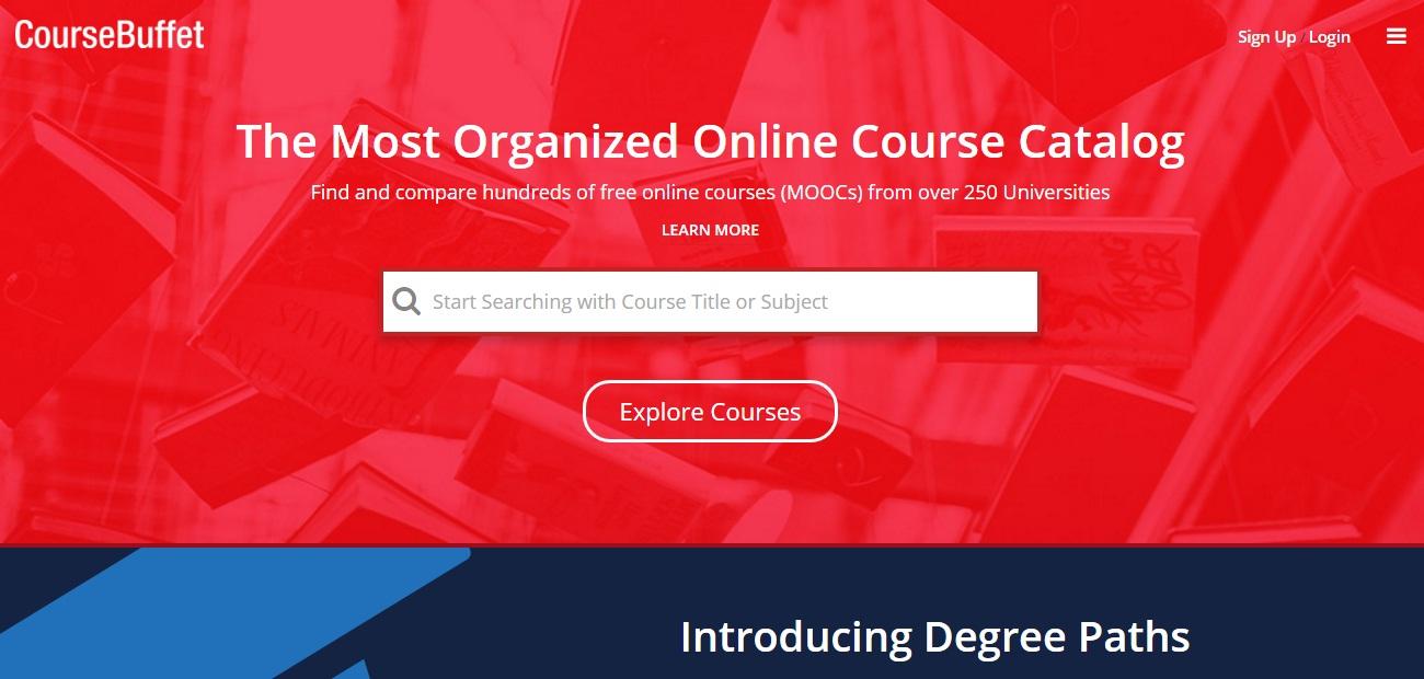 MOOC Aggregators - Course Buffet