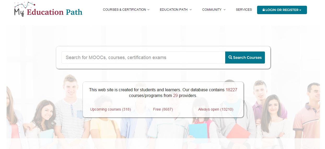 MOOC Aggregators - My Education Path